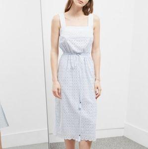 🌼 Great Plains midi dress in pale blue